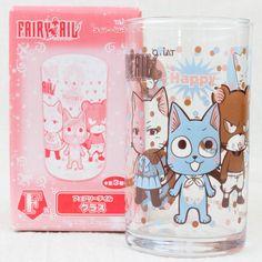 FAIRYTAIL Happy Charles Lily Visual Art Glass Banpresto JAPAN ANIME MANGA - Japanimedia