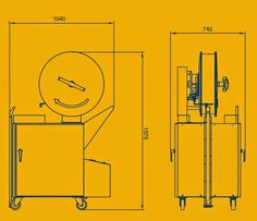 2700 Flejadora semi-automática vertical para palets