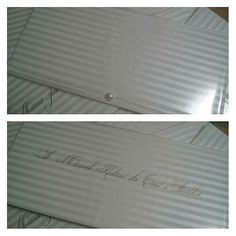 Convites super elegantes, by Mão de Anjo. Por apenas R$ 8.70 und, detalhes e orçamentos através do email: contato@maodeanjo.com #maodeanjo #convitemaodeanjo #convitedecasamento #casamentopersonalizado