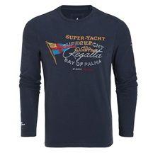 Gaastra T-shirt à manches longues Yacht Cup Hommes
