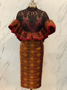 African Wear Dresses, African Fashion Ankara, Latest African Fashion Dresses, African Print Fashion, African Attire, Lace Gown Styles, African Blouses, African Traditional Dresses, Tutu Tutorial