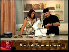 Claudio Mechetto - TV Gazeta - Mulheres 30/10/2012 - Bolo de ricota com ...