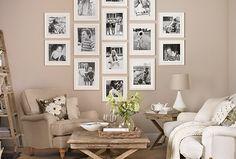 Love the Photo Wall!