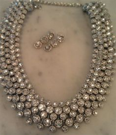 #Sale $60 Spectacular Bridal Diamond Necklace <3 New Site ~ New Simple Checkout! Check back regularly ... new items being added daily. www.Totally Sassy.com