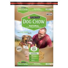 Purina Dog Chow Natural Plus Vitamin and Minerals Dry Dog Food 16.5lb Bag