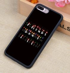 Sci-fi fans and binge watchers alike will love these Stranger Things iPhone cases.Compatible iPhone Model: iPhone 7 Plus, iPhone 7 iPhon Iphone 7 Plus Funda, Iphone 8 Plus, Iphone 4, Stranger Things Phone Case, Stranger Things Funny, Diy Iphone Case, Tumblr Phone Case, Prepaid Phones, Accessoires Iphone