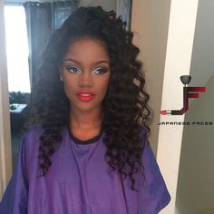 High Temperature Natural Wave Hair Style