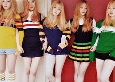 Preppy look (girl group-Red Velvet)
