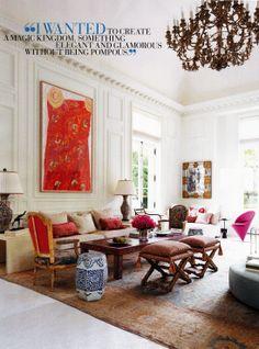 Dallas Home - Interior Design by Beverly Field, Veranda Jan-Feb 2014