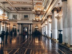 moscowcoffee:  The Hermitage Museum. Saint Petersburg, Russia. 10/04/2015