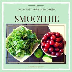 Tired of the same old breakfast? Why not try a green smoothie as part of your 17 Day Diet! Get the recipe now! http://17ddblog.com/can-smoothies-17-day-diet-recipe/
