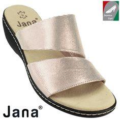 Jana női bőr papucs 8-27215-28 952 rózsaszín metál 2aaacfbb5d