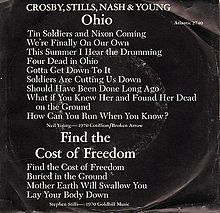 Ohio (Crosby, Stills, Nash & Young song) - Wikipedia, the free encyclopedia