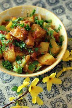 Aloo Bombay pommes de terres à l'indienne - Bistro de Jenna - Shellie Deme Potato Recipes, Veggie Recipes, Indian Food Recipes, Asian Recipes, Cooking Recipes, Healthy Recipes, Ethnic Recipes, Cooking Food, Ayurveda