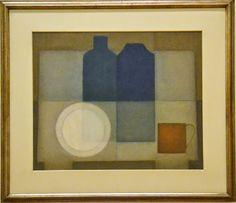Arcangelo Ianelli - Natureza-morta 1960 Pinacoteca do Estado de São Paulo   Arcangelo Ianelli foi um dos mais destacados artistas do Abstracionismo Formal no Brasil.