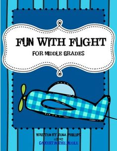 This download is 20 pages designed for middle grades classrooms studying the principles of flight. Fun unit for the end of the school year.