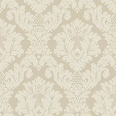 Arthouse Opera Da Vinci Damask Textured Wallpaper Cream 405101