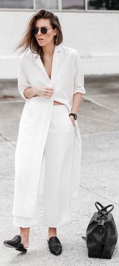 How to Wear All White Outfits this Summer