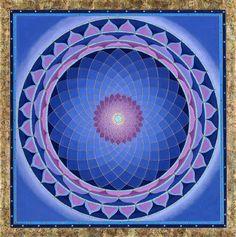 Deep Blues , Purple Mandala