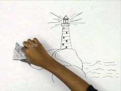 How to Draw a Lighthouse: 7 Steps (with Pictures) - wikiHow