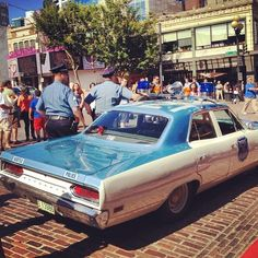 Seattle Police Department, Plymouth Fury police car from the 1970's
