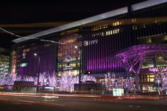 Hakata Station pretty in pink (博多駅サクライルミネーション) by Tetsuya Katsuge on 500px