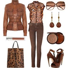 Marrons, created by nuria-pellisa-salvado on Polyvore