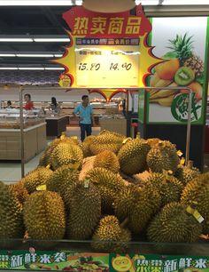 Chinese supermarket Dongguan China Durian Fruit