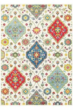 Izzie Area Rug - Transitional Rugs - Synthetic Rugs - Machine-made Rugs | HomeDecorators.com