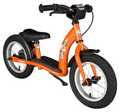 Kids' Balance Bikes - Bikestar 12 inch 305cm Kids Balance Bike  Kids Running Bike  Classic  Orange -- You can find out more details at the link of the image.