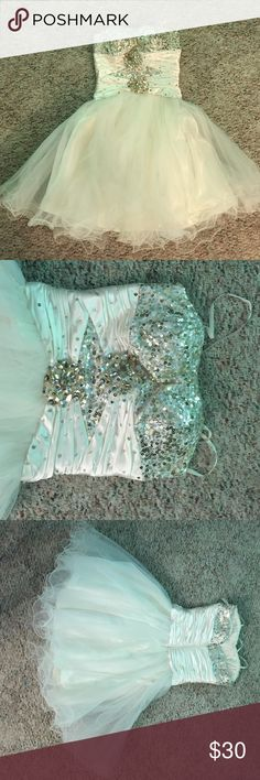 Homecoming dress A dress that can be used for any nice occasion. B Darlin Dresses Strapless