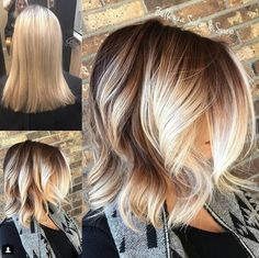 11 Best Balayage Short Hair Color Ideas 2018 - New of Hairstyles Hair Styles 2016, Medium Hair Styles, Short Hair Styles, Bob Styles, Hair Color Balayage, Blonde Balayage, Short Balayage, Blonde Ombre Short Hair, Blonde Pixie