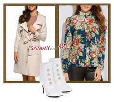 """""""Colorful blouses are now in vogue"""" by dzemila-c ❤ liked on Polyvore featuring sammydress"""