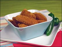 Crispy & Creamy Jalapeno Poppers - Hungry Girl gives Arby's a run for it's money when she created her own version for 5 poppers at under 130 calories and under 1 g of fat (3 WW pts)!!!! VS Arby's at 305 calories and 21 grams of fat (9 WW pts, no thanks!).. Take that! Serve with this low-fat ranch. --> (Mix one 8 oz plain Greek yogurt with 4 tsp of ranch mix, stir and chill for 1 hr before for better, married taste.)