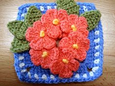 A new free flower block. It is very easy to do and you can use up all your scraps.