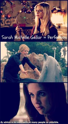 """""""12 Reasons Why Sarah Michelle Gellar Would Make The Perfect Boss"""" on BuzzFeed!"""