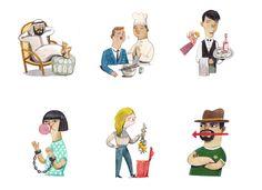 felicita sala illustration: work recently