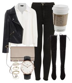 Untitled #5519 by laurenmboot on Polyvore featuring polyvore, fashion, style, Nico, Topshop, Stuart Weitzman, Daniel Wellington, Miss Selfridge and clothing
