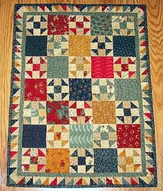 Waste Not, Want Not - Doll Quilt.