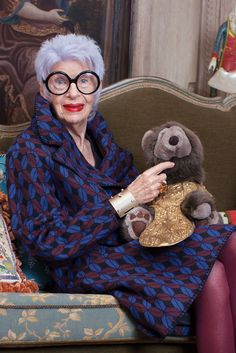 Iris Apfel Helps Introduce & Other Stories to SoHo @gtl_clothing #getthelook http://gtl.clothing