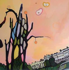 "Saatchi Art Artist Rachael Adams; Painting, ""Orpheus Descending #2: The Lady of Shalott"" #art"