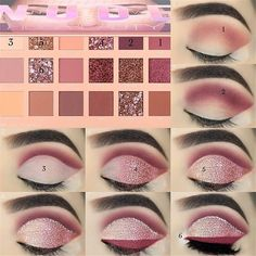 43 Eyeshadow Tutorials For Perfect Makeup – So Easy Even Beginners Can Learn Augen Makeup, , 43 Eyeshadow Tutorials For Perfect Makeup – So Easy Even Beginners Can Learn Augen Make-up Tutorial; Augen Make-up für braune Augen; Augen Make-up nat. Eye Makeup Steps, Natural Eye Makeup, Makeup For Brown Eyes, Easy Eye Makeup, Makeup Case, Make Up Brown Eyes, Sparkly Eye Makeup, Natural Eyeliner, Pin Up Makeup