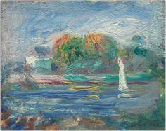 Auguste Renoir - The Blue River