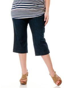 Motherhood Maternity: Plus Size Secret Fit Belly(r) Maternity Crop Jeans Motherhood Maternity. $42.98