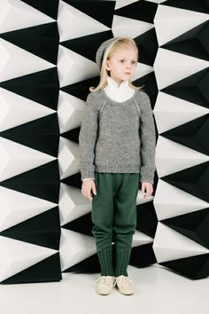 Cool knitted leggings from Paade Mode for winter 2013 girls fashion