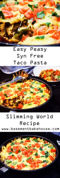 Syn Free Taco Pasta - Slimming World Recipe - Easy - One Pot Dinner - One Pot Pasta - Syn Free - Taco - Pasta
