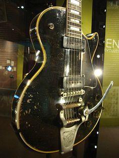 Jimi Hendrix' 1955 Gibson Les Paul Custom