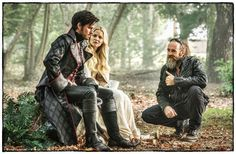 """Jennifer Morrison and Colin O'Donoghue -   BTS trying to light the Promethean flame… photos by @pixelpushingmad - 5 * 8 """"Birth"""""""