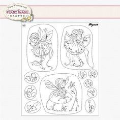 Pergamano Clear Stamp Set - Summer Fairies #41906 < Shop | Cuddly Buddly Crafts