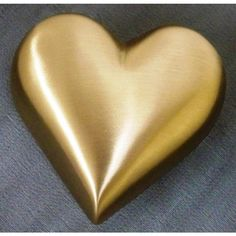 UrnsDirect2U Brass Heart Keepsake Urn - 9878
